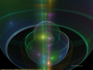 image: an abstract image created using neurofeedback